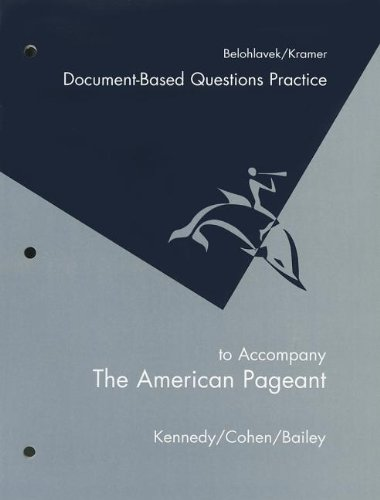 9780618574292: American Pageant Document-Based Questions Practice