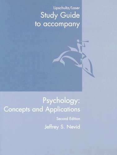 9780618580965: Psychology: Concepts and Applications
