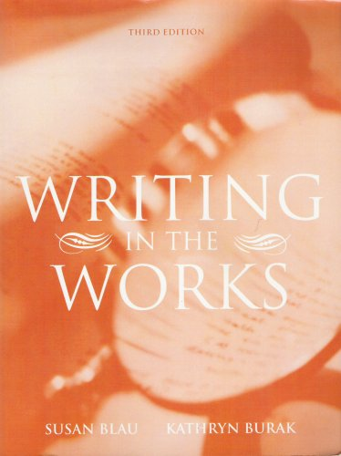9780618583454: Writing in the Works (3rd Edition)