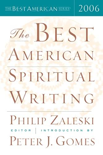 9780618586455: The Best American Spiritual Writing 2006 (The Best American Series)