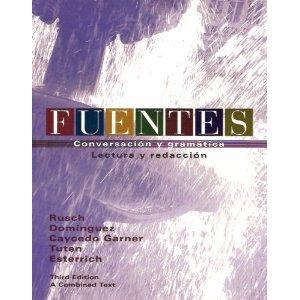 9780618586769: Fuentes Combo Third Edition, Custom Publication