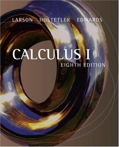 9780618586790: Calculus I