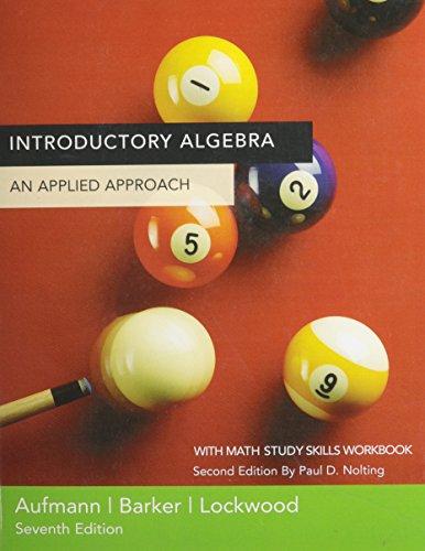 9780618586820: Introductory Algebra, Custom Publication
