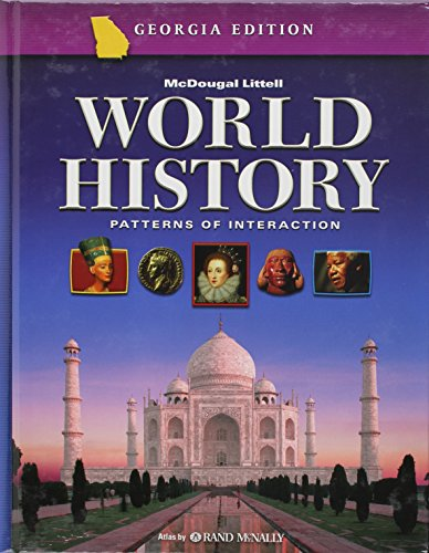 9780618586882: World History: Patterns of Interaction Georgia: Student Edition Grade 10 2006