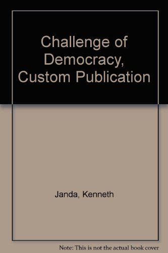 9780618589050: Challenge of Democracy, Custom Publication