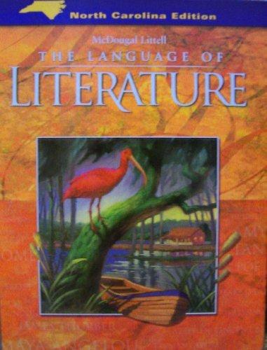 9780618589234: McDougal Littell Language of Literature North Carolina: Student Edition Grade 9 2006