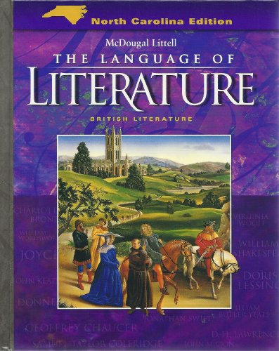 9780618589265: McDougal Littell Language of Literature North Carolina: Student Edition Grade 12 2006