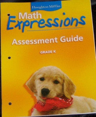 9780618589456: Math Expressions: Assessment Guide, Grade K