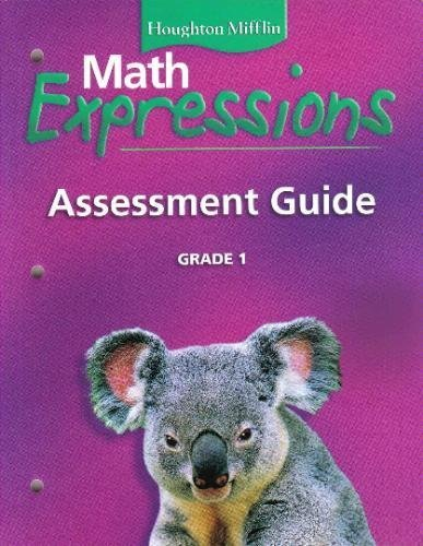 9780618589463: Math Expressions: Assessment Guide Grade 1