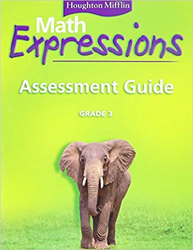9780618589487: Math Expressions: Assessment Guide, Grade 3
