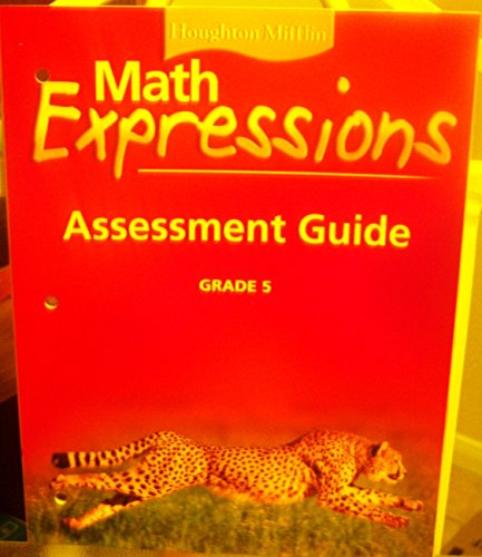 9780618589500: Math Expressions: Assessment Guide Levl 5