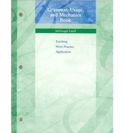 9780618589531: Language Network: Grammar, Usage, and Mechanics Workbook Grade 10