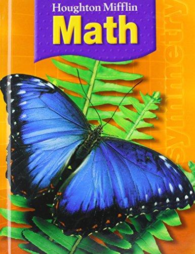 9780618590933: Houghton Mifflin Math: Student Book Grade 3 2007