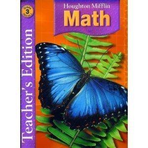 9780618591169: Houghton Mifflin Math, Teacher Edition, Grade 3, Vol. 2