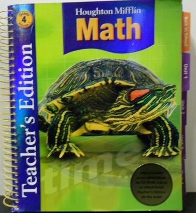 9780618591183: Houghton Mifflin Math, Grade 4, Vol. 1, Teacher's Edition