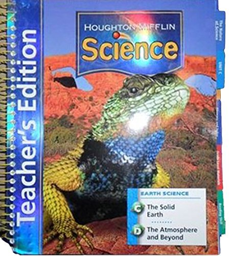 9780618592081: Houghton Mifflin Science: Teacher's Edition Unit Book Level 4 Earth 2007