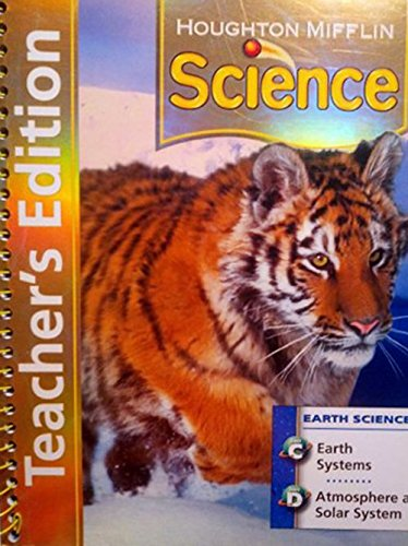 9780618592159: Houghton Mifflin Science: Teacher's Edition Unit Book Level 5 Earth 2007
