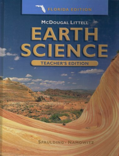Earth Science, Teacher's Edition: MCDOUGAL LITTEL