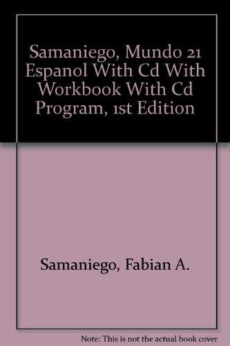 9780618593088: Mundo 21 Espanol Textbook + Cd + Workbook + Cd Program (Spanish Edition)