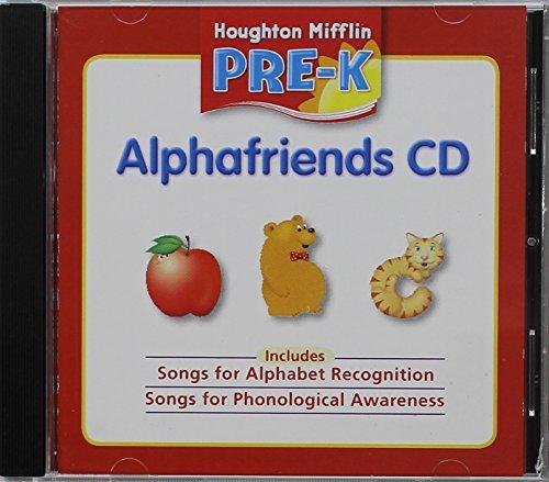 9780618593552: Houghton Mifflin Pre-k Alphafriends Cd Grade Pre K