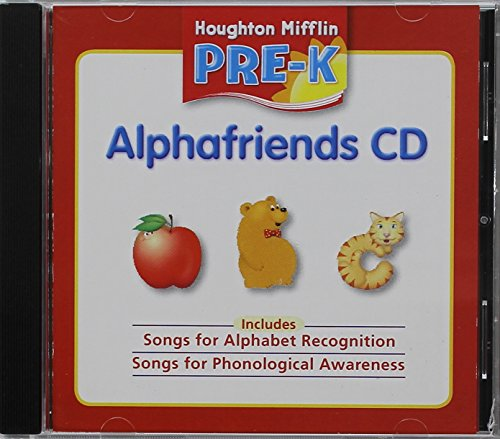 9780618593552: Houghton Mifflin Pre-K: Alphafriends CD Grade Pre K