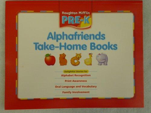 9780618593569: Houghton Mifflin Pre-K: Alphafriends Take-Home Books Grade Pre K