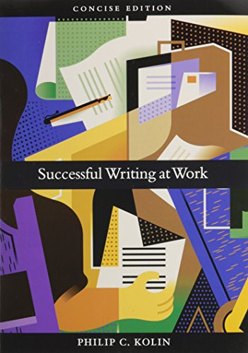 9780618594641: Successful Writing at Work Concise + Smarthinking