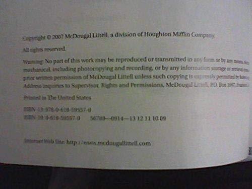 9780618595570: McDougal Littell Geometry, Teacher's Edition