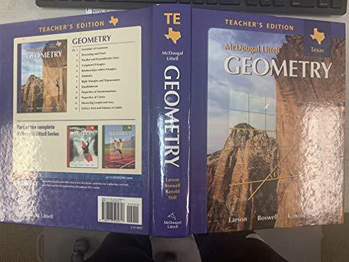 9780618595617: Holt McDougal Larson Geometry: Teachers Edition Geometry 2007