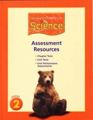 9780618596119: Assessment Resources for Houghton Mifflin Science, Grade 2
