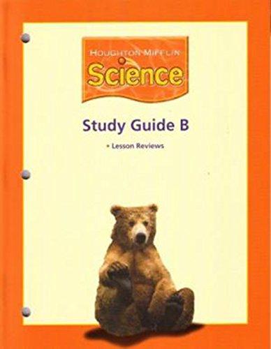 Houghton Mifflin Science: Study Guide ?B? On Level BLM/TAE Book Grade 2: HOUGHTON MIFFLIN