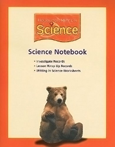 9780618597055: Houghton Mifflin Science: Science Notebook (consumable) Grade 2