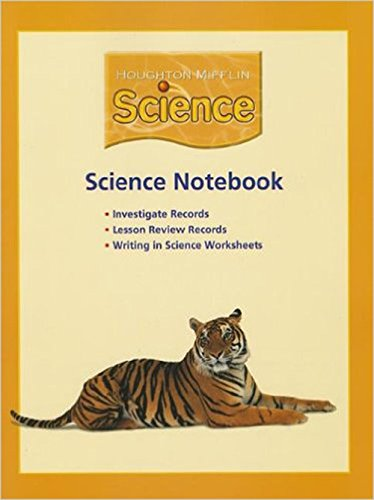 9780618597086: Houghton Mifflin Science: NoteBook Consumable Level 5