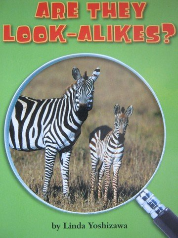 9780618598144: Are They Look-Alikes? (Life Science: Growing Up on Earth)