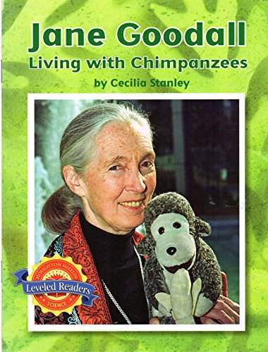 9780618599646: Jane Goodall: Living with Chimpanzees (Leveled Readers)