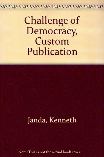 9780618601127: Challenge of Democracy, Custom Publication