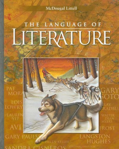 9780618601349: McDougal Littell Language of Literature: Student Edition Grade 6 2006