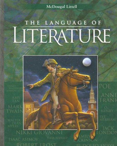 9780618601363: Language of Literature, Level 8 (McDougal Littell Language of Literature)