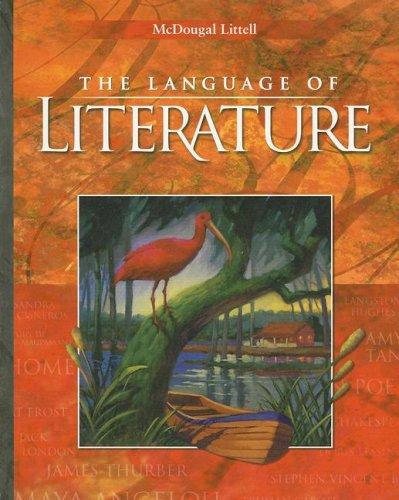 9780618601370: McDougal Littell Language of Literature: Student Edition Grade 9 2006