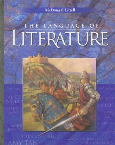 9780618601387: The Language of Literature - Grade 10