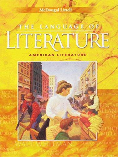 9780618601394: Language of Literature: American Literature
