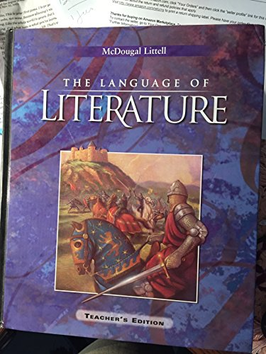 9780618601462: The Language of Literature, Level 10 (Teacher's Edition)