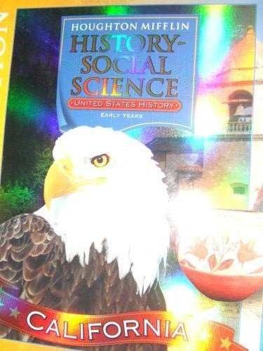 9780618601516: Houghton Mifflin Social Studies California: Teach Ed Level 5 VoLevel 2 California Early Years 2007
