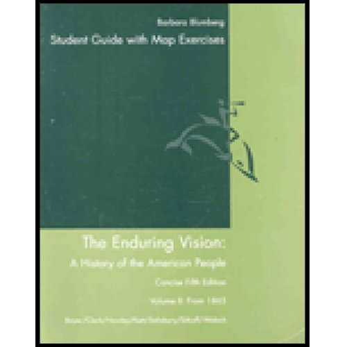 9780618604302: Study Guide for Boyer/Clark/Hawley/Kett/Salisbury/Sitkoff/Woloch's The Enduring Vision: A History of the American People, Concise Volume II, 5th