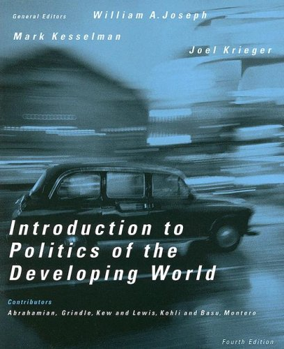 9780618604487: Introduction To Politics Of The Developing World: Political Challenges and Changing Agendas(4th. edition)