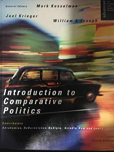 Introduction To Comparative Politics Ap Fourth Edition: Kesselman, Mark