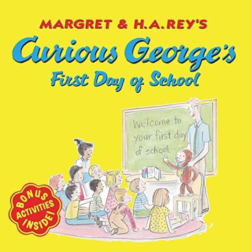 9780618605644: Curious George's First Day of School