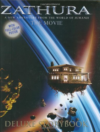 9780618605781: Zathura the Movie Deluxe Storybook: A New Adventure from the World of Jumanji [With Folded Poster]
