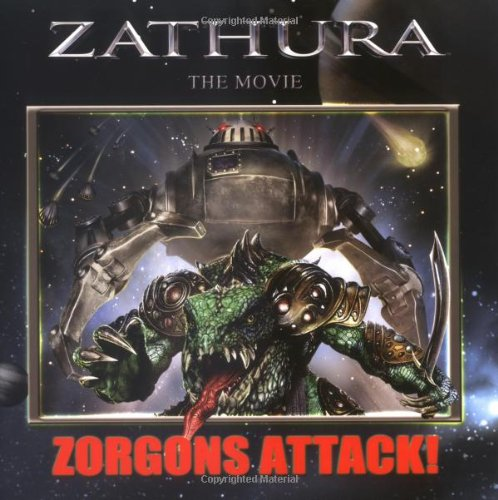Zathura The Movie: Zorgons Attack!: Houghton Mifflin Co.,