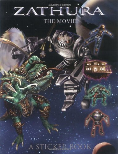 Zathura the Movie Sticker Book: Houghton Mifflin Co., Editors of